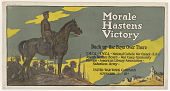 view Morale Hastens Victory Back Up the Boys Over There ... Y.W.C.A.; Y.M.C.A.; Jewish Welfare Board; National Catholic War Council - Knights of Columbus; War Camp Community Service; American Library Association; Salvation Army. digital asset: Morale Hastens Victory Back Up the Boys Over There ... Y.W.C.A.; Y.M.C.A.; Jewish Welfare Board; National Catholic War Council - Knights of Columbus; War Camp Community Service; American Library Association; Salvation Army