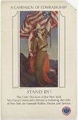 view A Campaign of Comradeship Stand By! ... New York War Camp Community Service. digital asset: A Campaign of Comradeship Stand By! ... New York War Camp Community Service