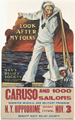 """view """"Look After My Folks"""" Navy Relief Society Official Relief Organization of the U.S. Navy Caruso and 1000 Sailors Monster Musical and Military Program ... (November 3, 1918) digital asset: """"Look After My Folks"""" Navy Relief Society Official Relief Organization of the U.S. Navy Caruso and 1000 Sailors Monster Musical and Military Program ... (November 3, 1918)"""