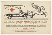 view Pegasus at work for the Allies American Poet's Ambulances in Italy ... American Poet's Ambulances in Italy. digital asset: Pegasus at work for the Allies American Poet's Ambulances in Italy ... American Poet's Ambulances in Italy