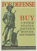 view For Defense Buy United States Savings Bonds and Stamps on Sale at Your Post Office or Bank. Treasury Department. digital asset: For Defense Buy United States Savings Bonds and Stamps on Sale at Your Post Office or Bank. Treasury Department