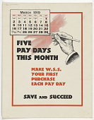 view Five Pay Days This Month Make W.S.S Your First Purchase Each Pay Day Save and Succeed digital asset: Five Pay Days This Month Make W.S.S Your First Purchase Each Pay Day Save and Succeed
