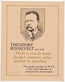 """view Theodore Roosevelt Once Said: """"Thrift is Merely Hard-Headed Common Sense Applied to Spending"""" ... digital asset: Theodore Roosevelt Once Said: """"Thrift is Merely Hard-Headed Common Sense Applied to Spending"""" ..."""