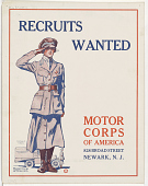 view Recruits Wanted Motor Corps of America ... Colliers digital asset: Recruits Wanted Motor Corps of America ... Colliers