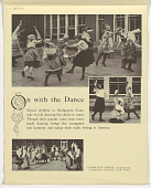 view On with the Dance / School children in Bridgeport, Conn., take to folk dancing like ducks to water ... digital asset: On with the Dance / School children in Bridgeport, Conn., take to folk dancing like ducks to water ...
