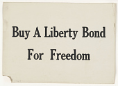 view Buy a Liberty Bond for Freedom. digital asset: Buy a Liberty Bond for Freedom