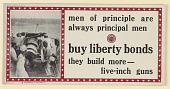 view Men of Principle Are Always Principal Men. Buy Liberty Bonds- They Build More Five Inch Guns. digital asset: Men of Principle Are Always Principal Men. Buy Liberty Bonds- They Build More Five Inch Guns