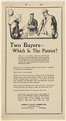 view Two Buyers - Which is the Patriot? ... digital asset: Two Buyers - Which is the Patriot? ...