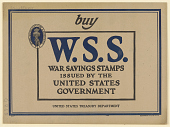 view Buy W.S.S. War Savings Stamps ... Treasury Department. digital asset: Buy W.S.S. War Savings Stamps ... Treasury Department
