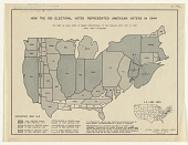 view How the 531 Electoral Votes Represented American Voters in 1944 ... National Opinion Research Center. digital asset: How the 531 Electoral Votes Represented American Voters in 1944 ... National Opinion Research Center
