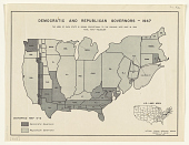 view Democratic and Republican Governors - 1947 ... digital asset: Democratic and Republican Governors - 1947 ...