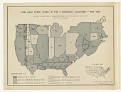 view How Each State Voted in the 4 Roosevelt Elections - 1932-1944 ... digital asset: How Each State Voted in the 4 Roosevelt Elections - 1932-1944 ...