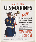 view Join the U.S. Marines Now! A Representative of the Marine Corps Recruiting Service Will Visit Princeton, P.O. ... (Princeton, N.J.) digital asset: Join the U.S. Marines Now! A Representative of the Marine Corps Recruiting Service Will Visit Princeton, P.O. ... (Princeton, N.J.)