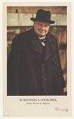 view M. WINSTON S. CHURCHILL, Premier Ministre d'Angleterre digital asset: M. WINSTON S. CHURCHILL, Premier Ministre d'Angleterre