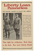 view Liberty Loan Pictorial News: The Fighting Leaders of France and America ... digital asset: Liberty Loan Pictorial News: The Fighting Leaders of France and America ...