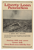 view Liberty Loan Pictorial News: A German Shell Exploding digital asset: Liberty Loan Pictorial News: A German Shell Exploding