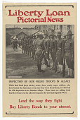 """view Liberty Loan Pictorial News: """"Inspection of Our Negro Troops in Alsace"""" digital asset: Liberty Loan Pictorial News: """"Inspection of Our Negro Troops in Alsace"""""""