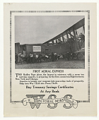 view First Aerial Express This Hadley Page Plane, the Largest in Existence, With a Seven Ton Carrying Capacity ... W.S.S. Pictorial News digital asset: First Aerial Express This Hadley Page Plane, the Largest in Existence, With a Seven Ton Carrying Capacity ... W.S.S. Pictorial News