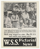 view Stars! ... Hitch Your Wagon to a Star -- Buy W.S.S. And Watch Your Money Grow W.S.S. Pictorial News digital asset: Stars! ... Hitch Your Wagon to a Star -- Buy W.S.S. And Watch Your Money Grow W.S.S. Pictorial News