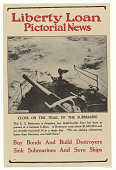 view Liberty Loan Pictorial News: Close on the Trail of the Submarine digital asset: Liberty Loan Pictorial News: Close on the Trail of the Submarine