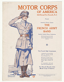 view Motor Corps of America ... Present America's Honor Guests the French Army Band ... digital asset: Motor Corps of America ... Present America's Honor Guests the French Army Band ...