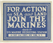 view For Action on Sea and Land Join the Marines ... digital asset: For Action on Sea and Land Join the Marines ...