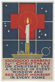 view 10,000,000 Members by Christmas / on Christmas Eve a Candle in Every Window and Red Cross Members in Every Home digital asset: 10,000,000 Members by Christmas / on Christmas Eve a Candle in Every Window and Red Cross Members in Every Home