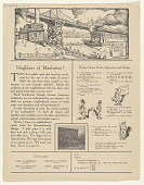 view Neighbors of Manhattan! Turn That Public Spirit That Has Been Awakened by the War to the Needs of Peace! ... digital asset: Neighbors of Manhattan! Turn That Public Spirit That Has Been Awakened by the War to the Needs of Peace! ...