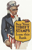 view Buy Your Thrift Stamps Frm This Bank. digital asset: Buy Your Thrift Stamps Frm This Bank