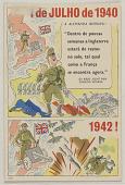 """view I de JULHO de 1940 A ALEMANHA BERRAVA """"Dentro de poucas semanas a Inglaterra estará de rastos no solo, tal qual como a Franca se encontra agora"""" ... digital asset: I de JULHO de 1940 A ALEMANHA BERRAVA """"Dentro de poucas semanas a Inglaterra estará de rastos no solo, tal qual como a Franca se encontra agora"""" ..."""