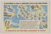 view NO MEDITERRANEO AS LINHAS DE COMMUNICACOES VITAIS DO EIXO FORAM CORTADAS ... digital asset: NO MEDITERRANEO AS LINHAS DE COMMUNICACOES VITAIS DO EIXO FORAM CORTADAS ...