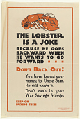 view The Lobster is a Joke Because He Goes Backward When He Wants to Go Forward Don't Back Out! ... digital asset: The Lobster is a Joke Because He Goes Backward When He Wants to Go Forward Don't Back Out! ...