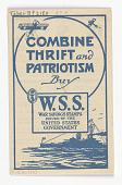 view Combine Thrift and Patriotism / Buy W.S.S. ... digital asset: Combine Thrift and Patriotism / Buy W.S.S. ...