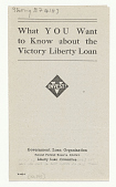 view What You Want to Know About the Victory Liberty Loan ... digital asset: What You Want to Know About the Victory Liberty Loan ...