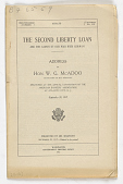 view The Second Liberty Loan and the Causes of Our War With Germany / Address of Hon. W.G. McAdoo ... (September 28, 1917) digital asset: The Second Liberty Loan and the Causes of Our War With Germany / Address of Hon. W.G. McAdoo ... (September 28, 1917)