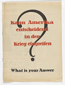 view Kann Amerika entscheidend in denKrieg eingreifen? What is your answer? digital asset: Kann Amerika entscheidend in denKrieg eingreifen? What is your answer?