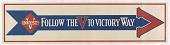 view Follow the v to Victory Way digital asset: Follow the v to Victory Way
