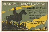 view Morale Hastens Victory Back Up the Boys Over There ... (November 11-18, 1918) digital asset: Morale Hastens Victory Back Up the Boys Over There ... (November 11-18, 1918)