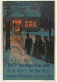 """view The """"Y"""" Has More Than 2000 Such Homes for Our Boys ... (November 11-18, 1918) digital asset: The """"Y"""" Has More Than 2000 Such Homes for Our Boys ... (November 11-18, 1918)"""