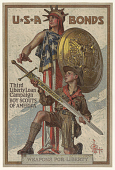 view Usa Bonds / Third Liberty Loan Campaign / Boy Scouts of America / Weapons for Liberty digital asset: Usa Bonds / Third Liberty Loan Campaign / Boy Scouts of America / Weapons for Liberty