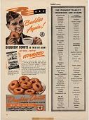 view Buddies / Again! / Doughboy Donuts do their bit again [magazine tear sheet] digital asset: Buddies / Again! / Doughboy Donuts do their bit again [magazine tear sheet].