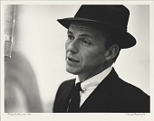 view Frank Sinatra [photoprint, black-and-white,] digital asset: Frank Sinatra [photoprint, black-and-white,] 1956.