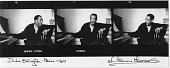 view Duke Ellington -- Paris -- 1960 [photoprint, black-and-white] digital asset: Duke Ellington -- Paris -- 1960 [photoprint, black-and-white].