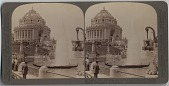 view Festival Hall [stereograph] digital asset: Festival Hall [stereograph], 1904.