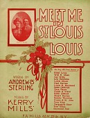view Meet Me In St. Louis, Louis [illustrated sheet music] digital asset: Meet Me In St. Louis, Louis [illustrated sheet music].