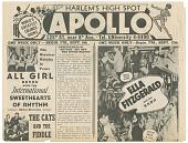 view Harlem's High Spot / Apollo [newsprint] digital asset: Harlem's High Spot / Apollo [newsprint].