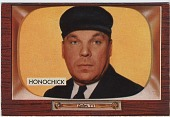 view George (Jim) Honochick [baseball card] digital asset: George (Jim) Honochick [baseball card].