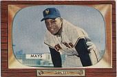 view Willie Mays [baseball card] digital asset: Willie Mays [baseball card, ca. 1955].
