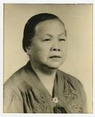 view [Portrait of Mrs. Lee. Photograph.] digital asset: [Portrait of Mrs. Lee. Photograph.]