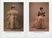 view Four packets of photographs of dolls wearing historic costume, designed by John Burbidge; an advertisement for a doll and toy show Burbidge participated in, 1996; two articles about Cile Bellefleur-Burbidge's career as designer and maker of wedding cakes digital asset: Four packets of photographs of dolls wearing historic costume, designed by John Burbidge; an advertisement for a doll and toy show Burbidge participated in, 1996; two articles about Cile Bellefleur-Burbidge's career as designer and maker of wedding cakes